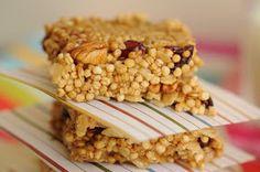 Dulcinea: Barritas de Quinoa y Frutos