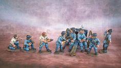 Jacksarge Brushes & Battles: Gun Crew for French WW1 75mm Artillery
