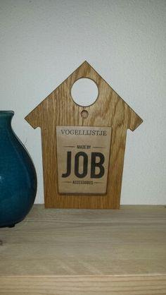 Vogellijstje, made by Job