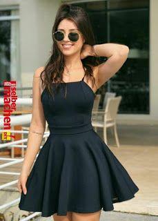 Prom Dresses Elegant, Black Halter Homecoming Dresses,Sleeveless Mini A-line Homecoming Dresses - Hoco Dresses, Dresses For Teens, Dance Dresses, Cheap Dresses, Sexy Dresses, Cute Dresses, Fashion Dresses, Formal Dresses, Dresses Online