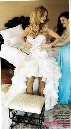 Joanna Krupa's wedding dress--I LOVE it.  Perfect.