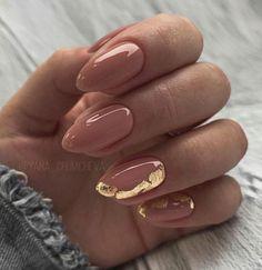 Classy Acrylic Nails, Acrylic Nails Coffin Short, Almond Acrylic Nails, Pink Acrylic Nails, Gel Nails, Manicure, Fall Almond Nails, Coffin Nails, Pretty Nails