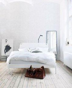 Paredes de ladrillo visto en blanco | Decorar tu casa es facilisimo.com