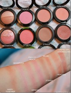 I'm here today to show you my entire MAC Blusher collection. I absolutely adore all MAC products and blushers are a particular weakness of mine. Mac Melba Blush, Mac Blush Dupes, Mac Peaches Blush, Mac Makeup, Beauty Makeup, Best Mac Products, Mac Blusher, Beauty Supply Near Me, Mac Bronzer