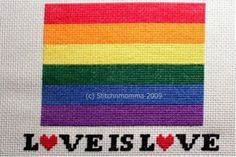 Trans Themed String Gay Lesbian Bisexual 8 yard Embroidery Thread LGBT Hand Dyed Varigated Thread