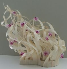 Floral Art Design: Blown Away seen from the front