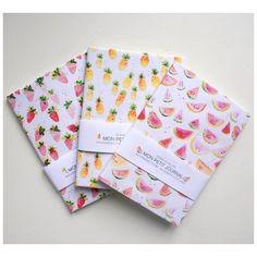 De bien jolis carnets, dessinés par Sonia Cavallini et en vente sur le site Chic Place.