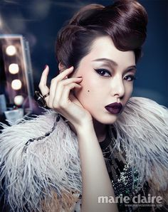 Marie Claire Korea August 2013 'The Chicago Musical'   이하늬 Honey Lee