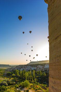 Hot Air Ballon adventure in Cappadocia, Turkey | by Cüneyd Demirci on 500px