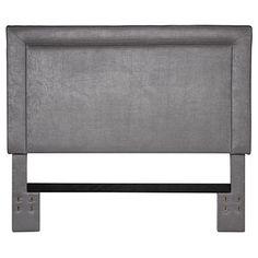 Grey Upholstered Full/Queen Headboard at Big Lots.