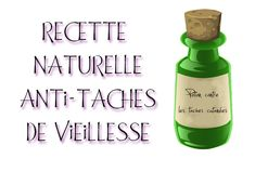 Recette naturelle contre les taches de vieillesse Anti Aging Serum, Drinks, Age, Stains, Gentleness, Everything, Recipe, Home, Drinking