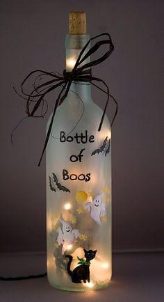 "Bottle of ""boos"""
