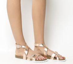 Sahara Ankle Strap Footbeds