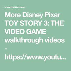Blue Great Danes, Toy Story 3, Disney Pixar, Video Game, Videos, Youtube, Youtubers, Video Games, Youtube Movies