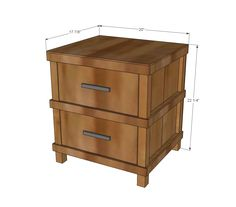 ana white build a owens nightstand free and easy diy project and furniture plans