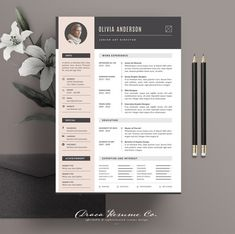 Resume template 3 page cv template by the template depot on welcome to draca resume we create professional resume template that help you stand out yelopaper Choice Image