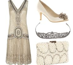 Great Gatsby inspired evening wear;    http://www.hellomagazine.com/fashion/2013050912488/great-gatsby-get-the-look/