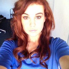 bella ferraro hair color
