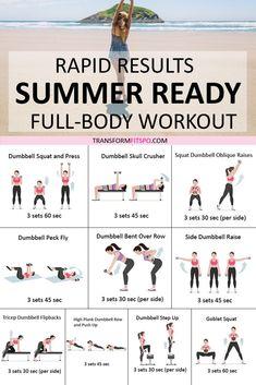 Best bikini body workout