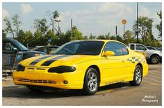 Yellow Monte Carlo SS - Official Pace Car Edition