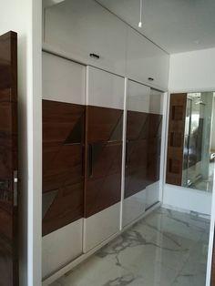 Bedroom Cupboard Designs, Bedroom Cupboards, Wardrobe Door Designs, Wardrobe Doors, Bed Furniture, Furniture Design, Modern Bedroom Design, Bed Room, Bedroom Decor