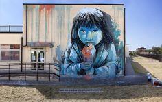 Street Art by Alice at Memorie Urbane Festival in Gaeta and Terracina, Italy