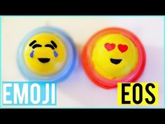 I have Emoji Eos! Eos is Rosa and Emoji is yellow and happy Eos Diy Crafts, Fun Crafts, Eos Lip Balm, Lip Balms, Eos Chapstick, Eos Products, Sour Patch Kids, Baby Lips, Diy Makeup