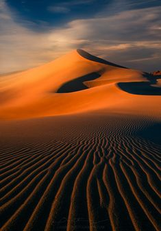 The Dune (Death Valley, California) by Greg Boratyn on Flower Landscape, Landscape Photos, Desert Landscape, Sunset Photography, Landscape Photography, Travel Photography, Best Landscape Photographers, Deserts Of The World, Picture Places