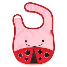 Buy Skip Hop: Zoo Bib - Ladybug online and save! The adorable bib that fits into its own little pouch. Zoo Bibs are lightweight and water-resistant with a handy catch-all pocket to keep things neat . Skip Hop Zoo, Baby Ladybug, Ladybug Party, Babies R Us, Baby Feeding, Baby Bibs, Burp Cloths, Baby Items, Baby Shoes