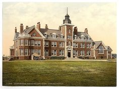 My Mom & Sister used to work here! ♥ [Rustington Convalescent Home, Littlehampton, England] (LOC) by The Library of Congress Homes England, Guilt Trips, Mom And Sister, Historical Architecture, Library Of Congress, View Image, Old Photos, Childhood Memories, River