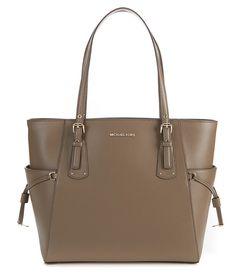 c67638a08200 MICHAEL Michael Kors Voyager Leather Tote. Handbags Michael Kors, Dillards,  Travel ...