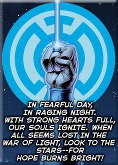 Blue Lantern Oath of Hope