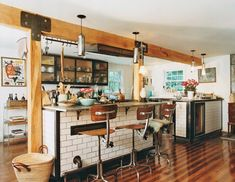 Helena Christensen's eco-friendly home