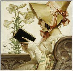 pintura de J.C. Leyendecker