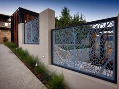 Decorative Fence For Modern Home Design - 7 Home Ideas