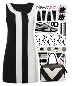 """""""2121 // S p h a l e r i t e (NewChic #9)"""" by arierrefatir ❤ liked on Polyvore featuring Salvatore Ferragamo, Yves Saint Laurent, Kate Spade, GHD, Givenchy, Sephora Collection, Narciso Rodriguez, MANGO and Forever 21"""