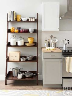 You don't have to shell out the big bucks to get a beautifully organized kitchen.