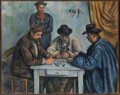 Paul Cézanne - The Card Players, 1890-92.