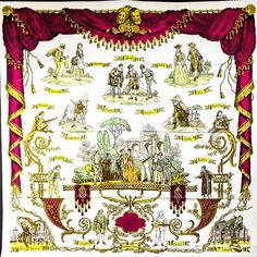 Hermes Silk Scarf La Comedie Italienne 90 cm square Sac Kelly, Ledoux, How  To ad2292911be