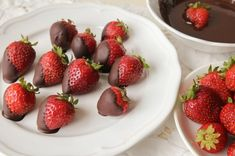 What to Cook: Chocolate-Dipped Strawberries from A Romantic Picnic for Two: What to Cook, What to Bring, and What Not to Do