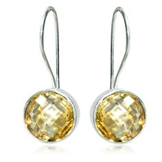Smoky Gemstone Earring