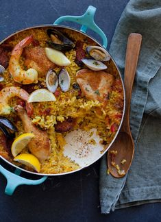 A recipe for Paella. Our version!  By Spoon Fork Bacon.