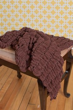 Cocoa Cocoon Blanket Photo Prop