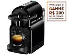 Cafeteira Expresso 19 Bar Nespresso Inissia - Preto com as melhores condições você encontra no Magazine Jc79. Confira!
