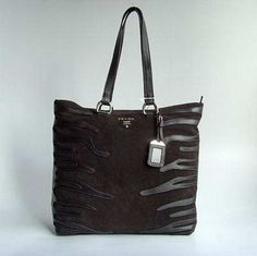 Prada Fashionable 6256 Handbag-Dark Coffee