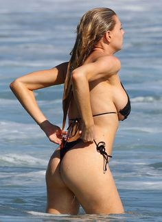 Charlotte McKinney barely contained in a bikini is the perfect amount of fun - Hollywood Gossip | MovieHotties.com