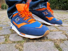 new balance 1500 blue leather