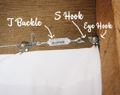 How To Hang 30' Of Curtains For $40
