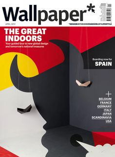"""The great indoors"": Wallpaper cover series - Spain"