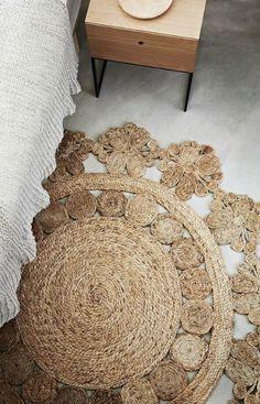 alfombra de esparto ecodeco mobiliario
